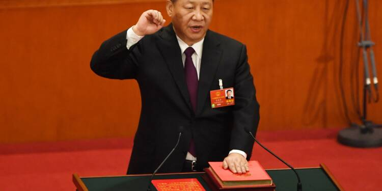 Nouveau sacre pour Xi Jinping, réélu pour un mandat de 5 ans