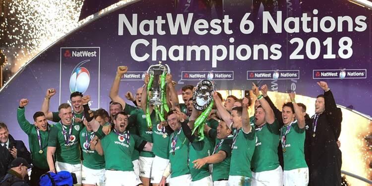 Tournoi: l'Irlande impressionne pour son troisième Grand Chelem