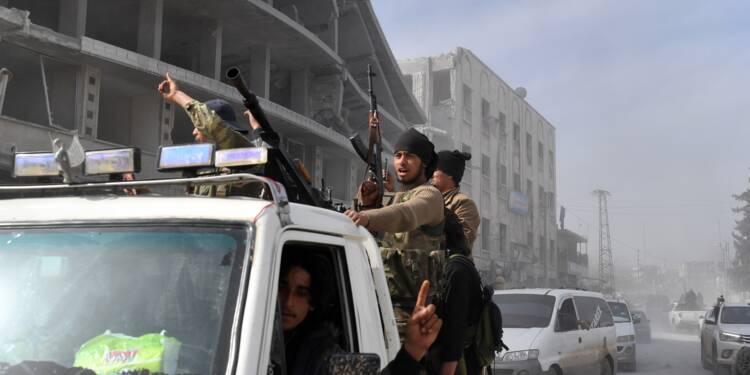 Syrie: les forces turques et leurs alliés contrôlent la ville d'Afrine