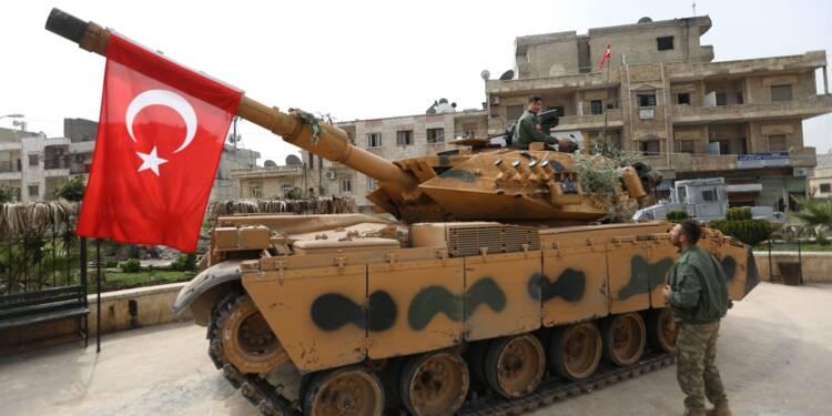 Syrie: le drapeau turc flotte sur la ville kurde d'Afrine