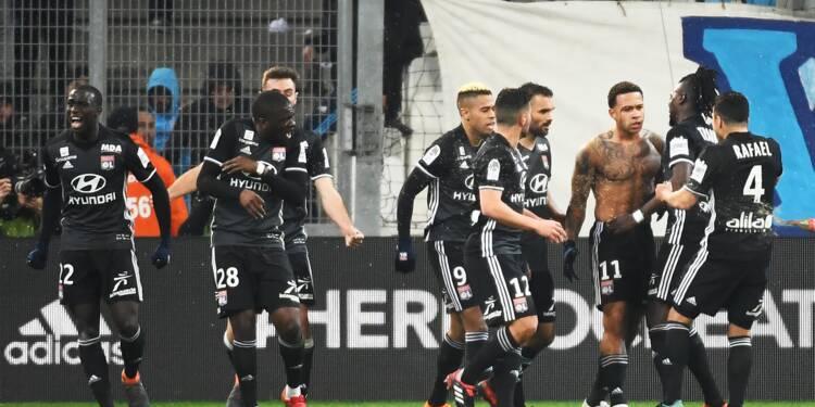 Ligue 1: Lyon assomme Marseille et relance la course au podium