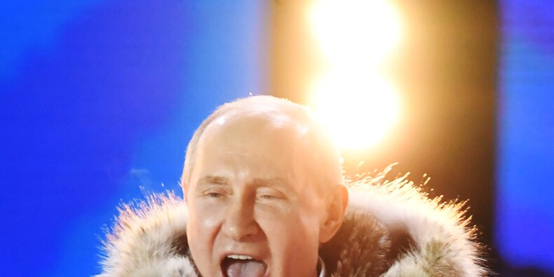 Poutine renforcé face aux Occidentaux par sa réélection triomphale