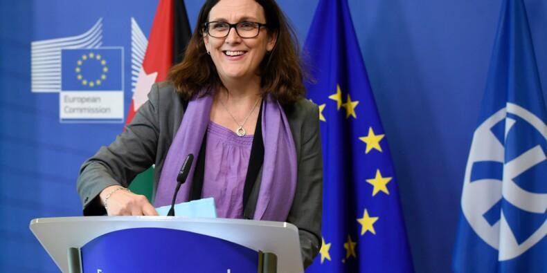 Taxes américaines: la commissaire de l'UE au Commerce mardi et mercredi à Washington