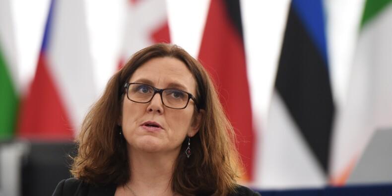 Taxes américaines: la commissaire de l'UE au Commerce à Washington