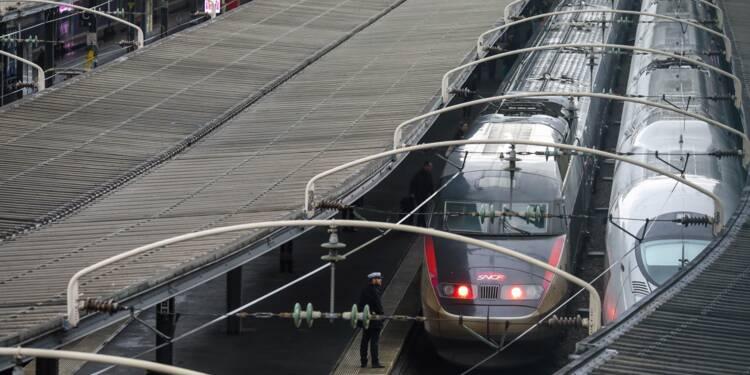 Grève SNCF: 40% des TGV, 25% des Intercités et 50% des TER