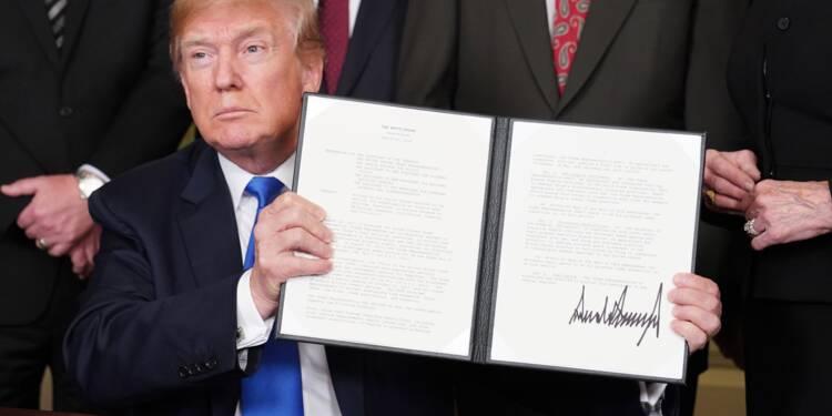 Commerce: les représailles ciblent des Etats favorables à Trump
