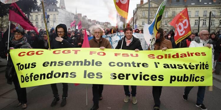 Fonctionnaires: sept syndicats appellent à la grève le 22 mai
