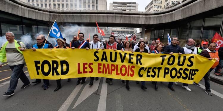 Ford-Blanquefort: manifestation à Bordeaux pour défendre les emplois
