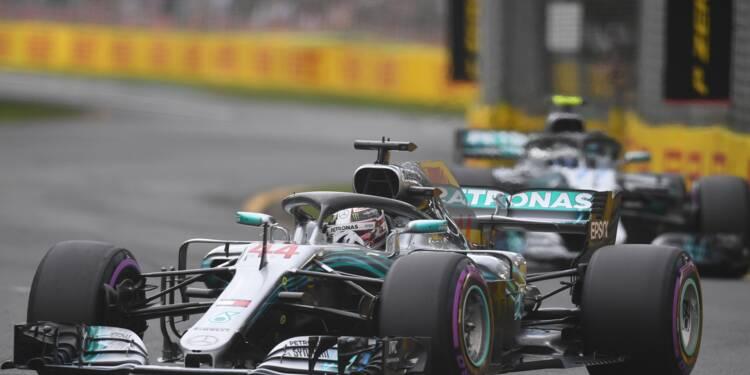 GP d'Australie: Lewis Hamilton (Mercedes) décroche la 1re pole de la saison