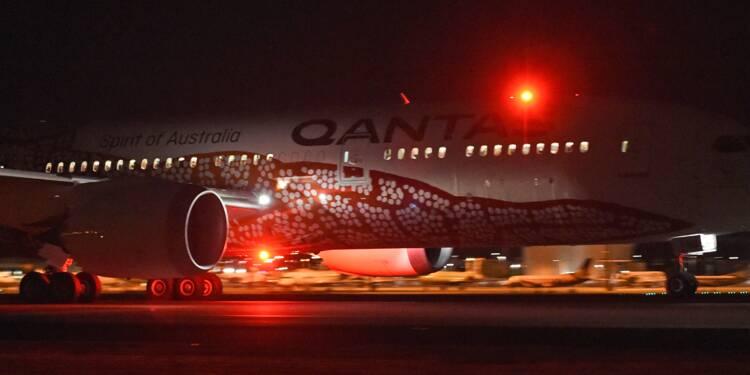 Premier vol direct sans escale entre l'Australie et l'Europe