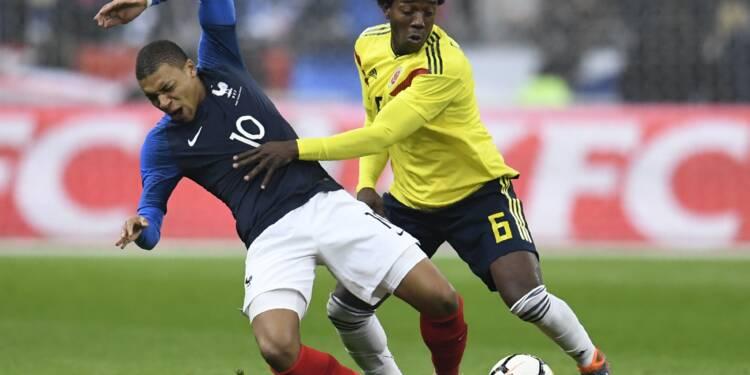 Amicaux: la France dévisse, le Brésil avance