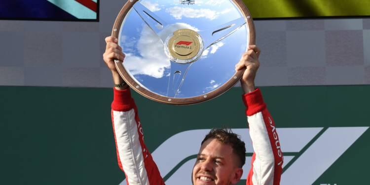 GP Australie: Vettel, le coup de chance