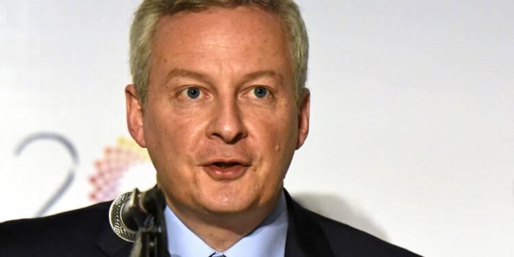 """Réduction du déficit: il """"reste un chemin important à faire"""" selon Le Maire"""