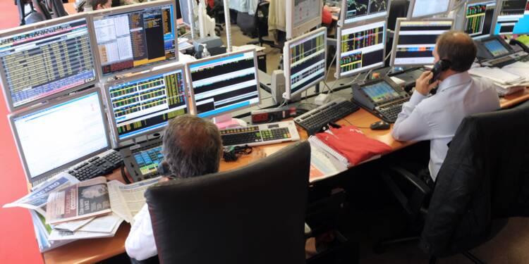La Bourse de Paris en forte hausse à la mi-journée