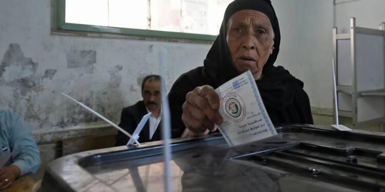 Les Egyptiens votent, deuxième mandat assuré pour Sissi