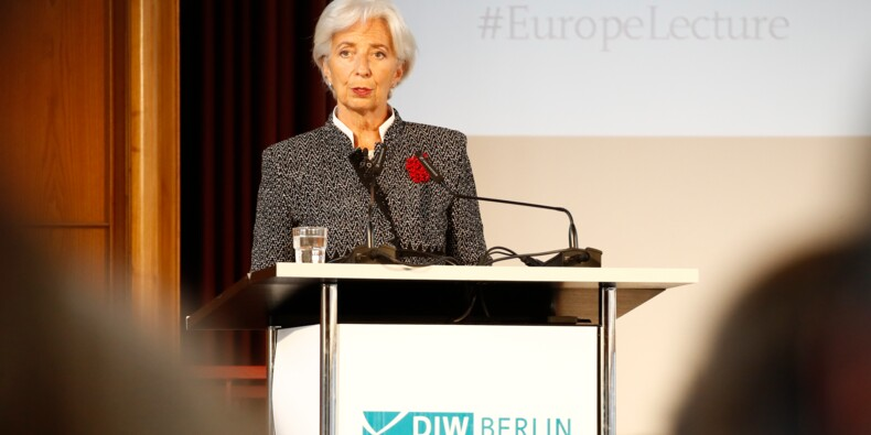 Zone euro: le FMI plaide à Berlin pour un fonds anti-crise