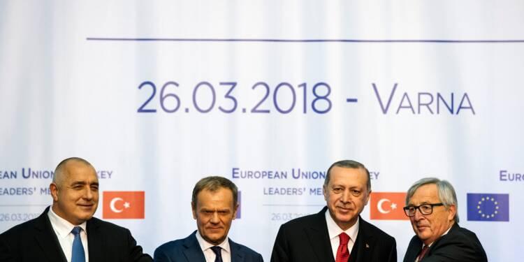 """L'UE et la Turquie se parlent mais sans avancées """"concrètes"""""""