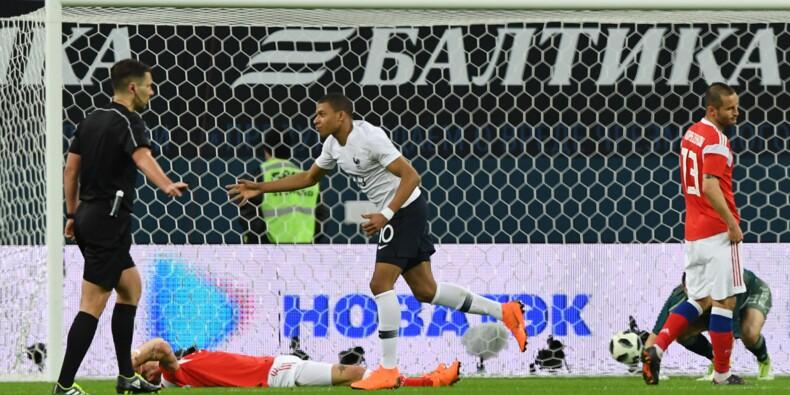 Mondial-2018: à la mi-temps, la France mène 1-0 en Russie