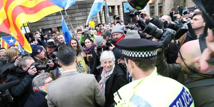 L'indépendantiste catalane Clara Ponsati, exilée en Écosse, s'est rendue à la police