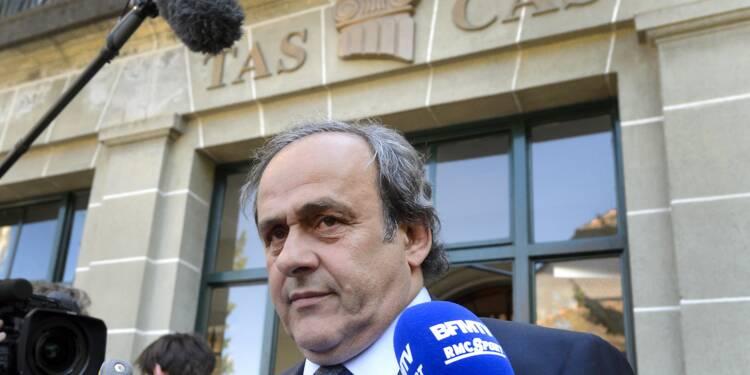 """Platini dénonce """"les juges de pacotille de la Fifa et du TAS"""""""
