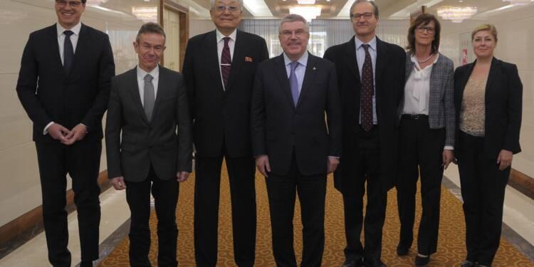 Corée du Nord: le président du CIO à Pyongyang, nouveau signe de dialogue