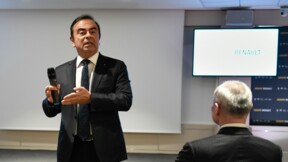 Renault monte en Bourse après une rumeur de fusion avec Nissan