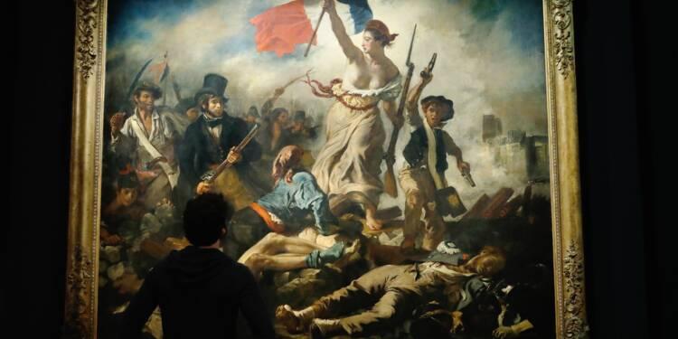 Delacroix Apres La Liberte Guidant Le Peuple Une Retrospective Au Louvre Capital Fr