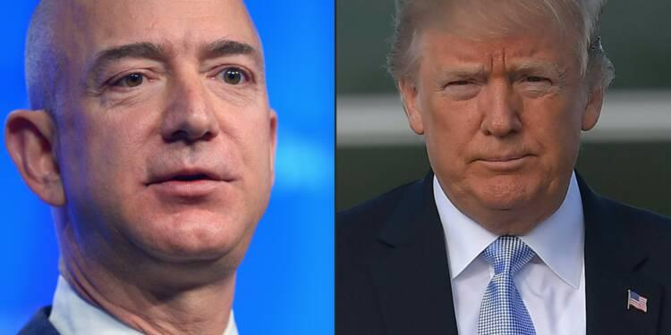 Trump lance un nouveau coup de boutoir contre Amazon