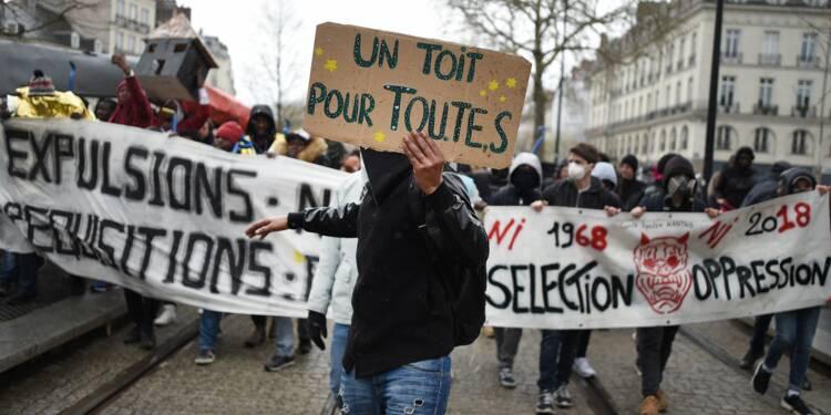Un millier de manifestants à Nantes contre les expulsions