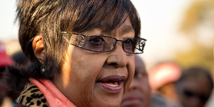 Afrique du Sud: décès de Winnie Mandela, l'ex-épouse de Nelson Mandela