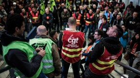SNCF: l'intersyndicale veut négocier avec Edouard Philippe