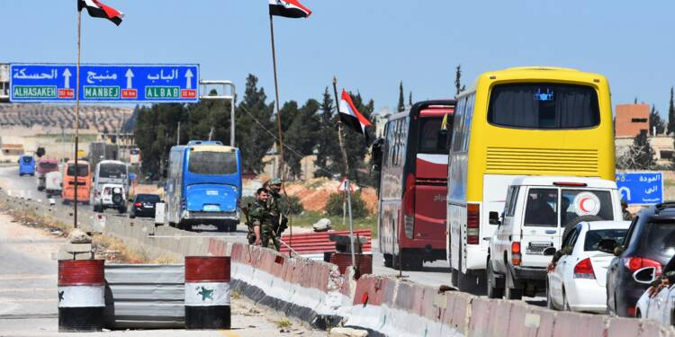 Syrie: les évacuations de la Ghouta orientale se poursuivent