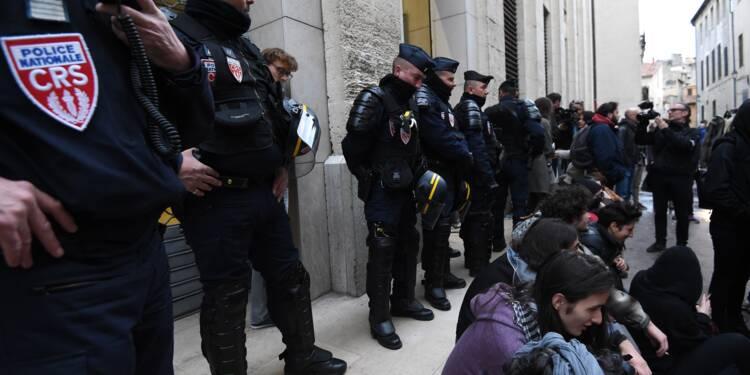 A Montpellier, réouverture sous haute surveillance de la fac de droit