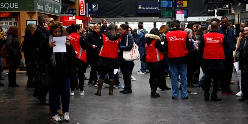 Grève SNCF: dans les gares françaises, la grande débrouille