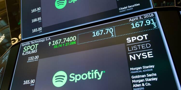 Spotify, roi du streaming, fait ses premiers pas en Bourse
