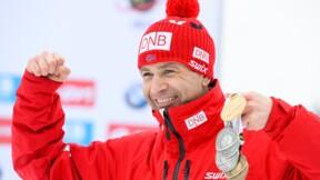 """Le """"roi du biathlon"""" Bjoerndalen raccroche à 44 ans"""