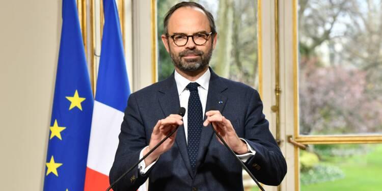 """SNCF: Philippe affiche sa fermeté face à ceux qui attendent """"que l'on cède"""""""