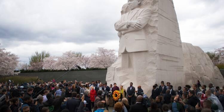 Les Etats-Unis rendent hommage à Martin Luther King, mort il y a 50 ans