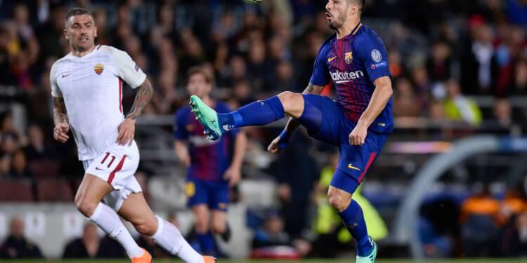 Ligue des champions: Barcelone prend l'avantage sur la Roma (4-1) et se rapproche des demies