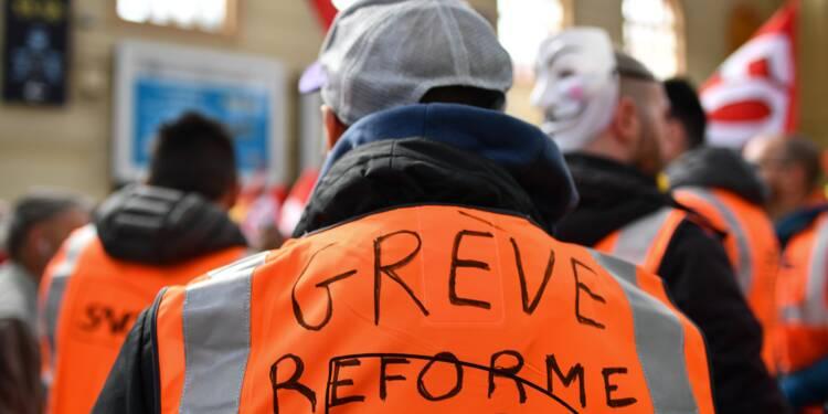 SNCF: une cagnotte de soutien aux grévistes dépasse 187.000 euros