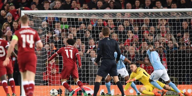 Ligue des champions: Manchester City prend une leçon à Liverpool
