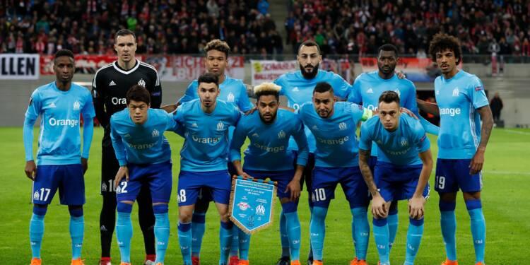 Europa League: l'OM avec une charnière Kamara-Gustavo et Mitroglou à Leipzig