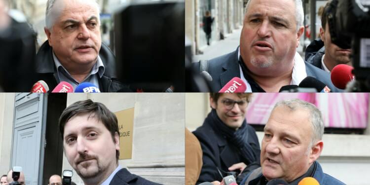 """SNCF: unis, les syndicats de cheminots veulent """"mettre la pression"""" sur Matignon"""