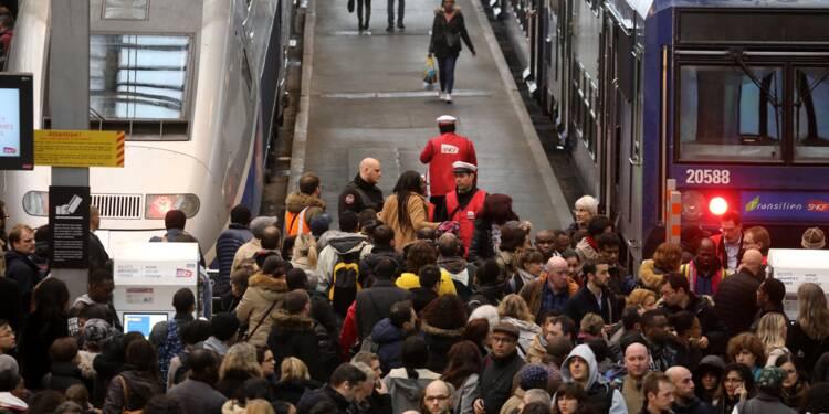 """SNCF: 57% des Français trouvent """"injustifié"""" le mouvement de grève"""