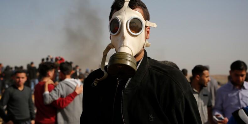 Heurts à la frontière Gaza-Israël, sept Palestiniens tués