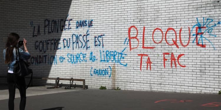 """Grogne dans les facs: 3 universités bloquées, la Fage évoque une """"instrumentalisation"""""""