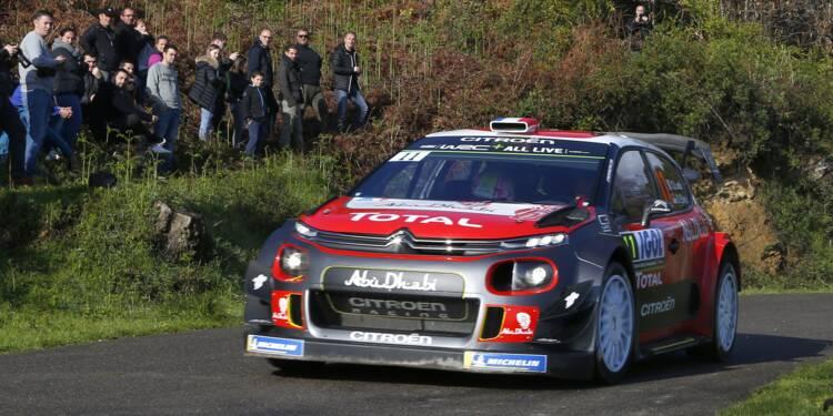 Tour de Corse: Loeb (Citroën) à la faute dans la 2e spéciale, abandon probable