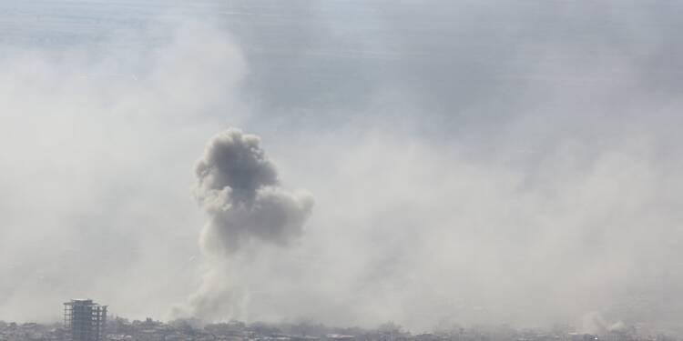 Frappes aériennes meurtrières sur la dernière poche rebelle près de Damas