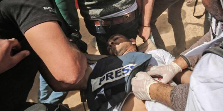 Gaza: un journaliste palestinien blessé par des soldats israéliens est mort