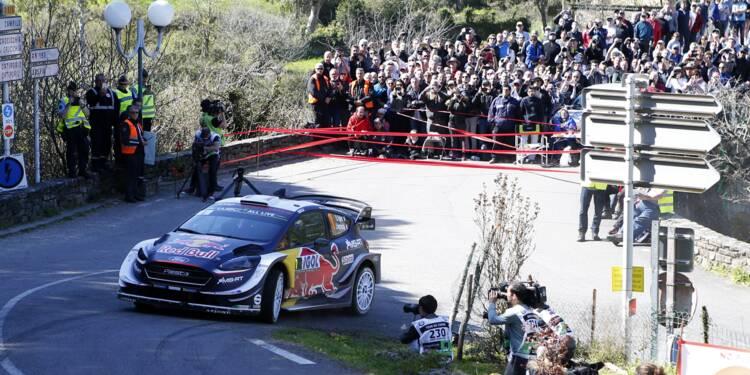 Tour de Corse: Ogier accroît son avance en tête après l'ES7